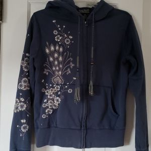 Vintage Lucky Brand embroidered hoodie
